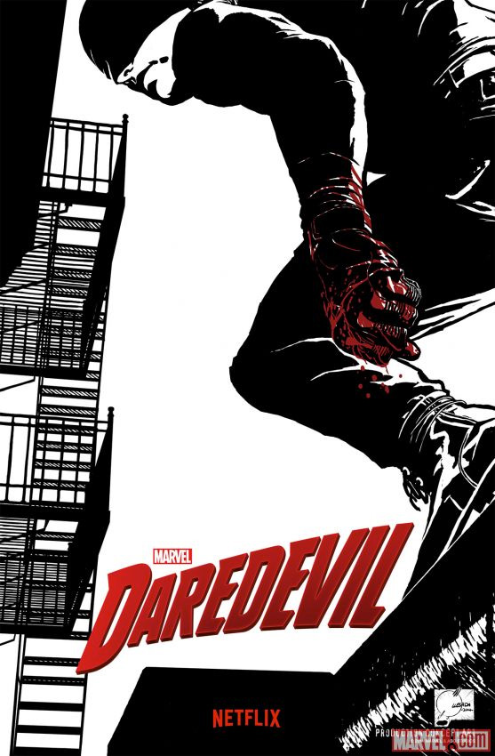 Concept póster de Marvel's Daredevil