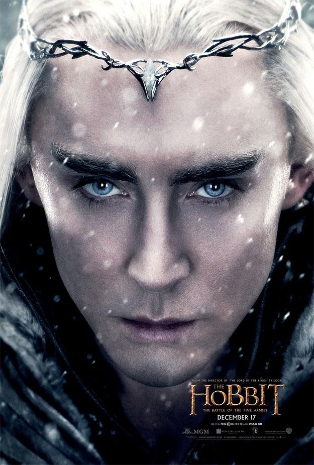 Cartel de Thranduil para El Hobbit: La Batalla de los Cinco Ejércitos