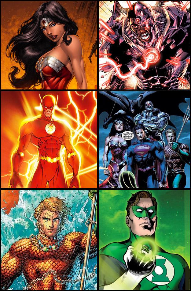 Desembarco comiquero de Warner Bros. y DC