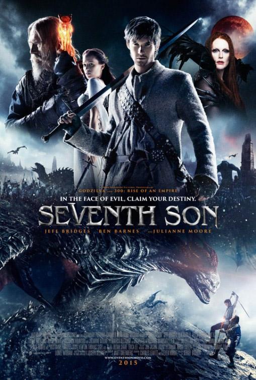 Otro cartel de la poco prometedora Seventh Son