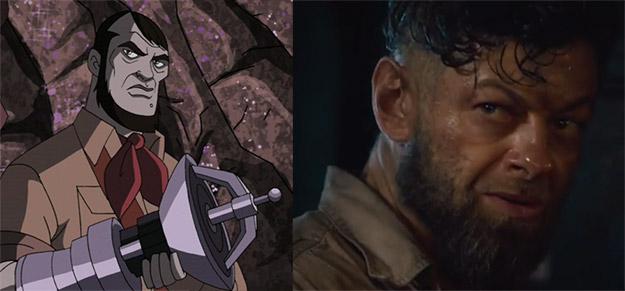 ¿Es Andy Serkis una suerte de Ulysses Klaw?
