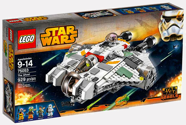 Tampoco pinta nada mal The Ghost de Star Wars Rebels