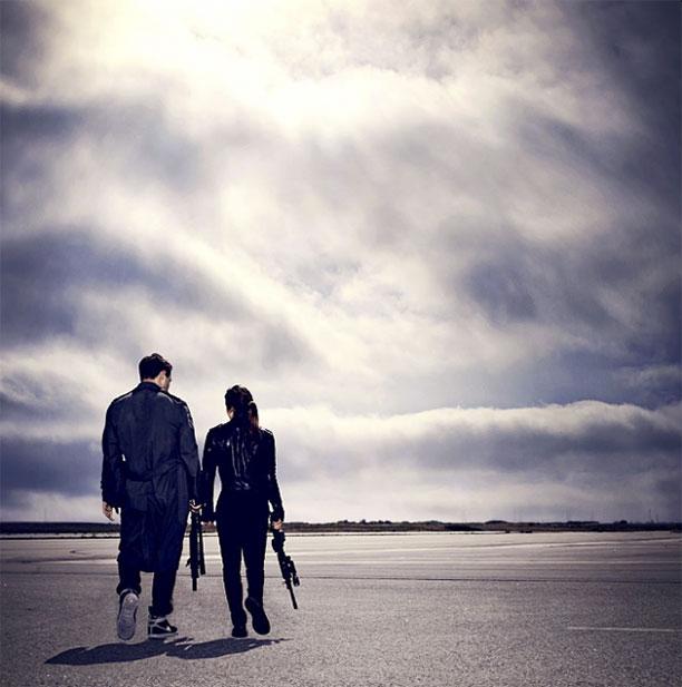 La pareja ideal... Kyle Reese y Sarah Connor