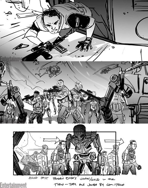 Tres detalles más del storyboard de Terminator: Genisys