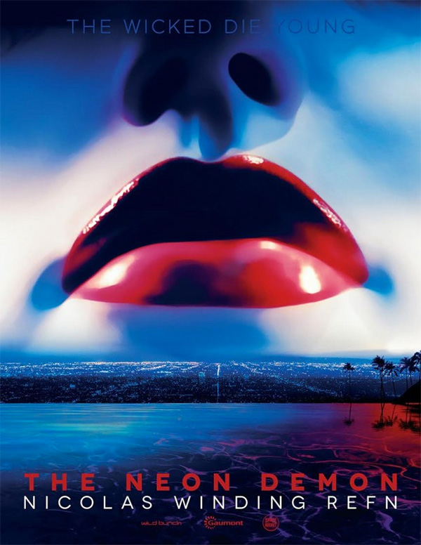 Un cartel promo para el AFM de The Neon Demon