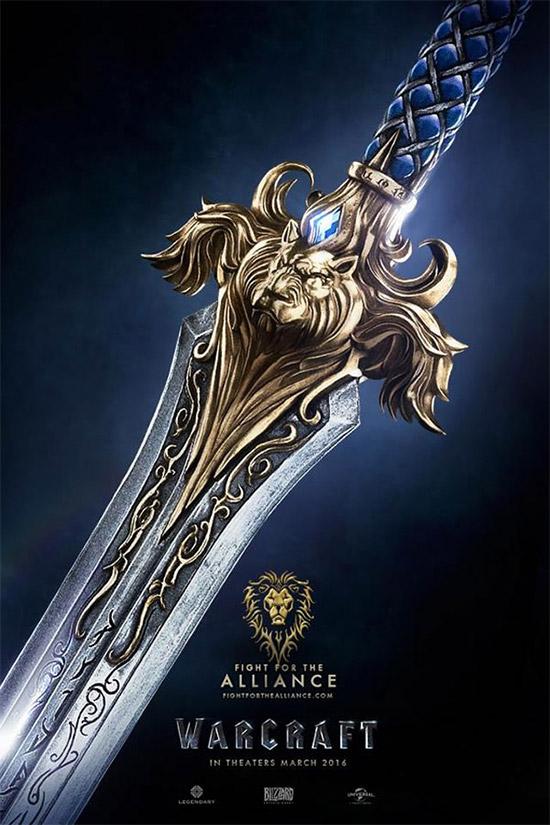Un cartel de Warcraft