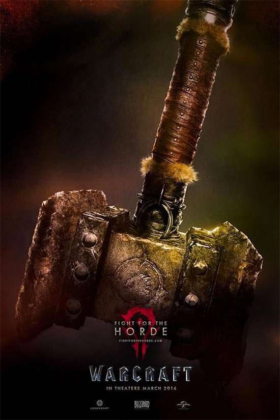 Otro cartel de Warcraft
