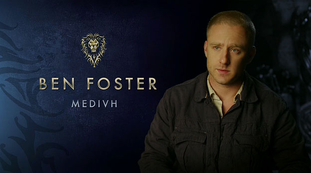 "Ben Foster es Medivh el ""Guardian"""