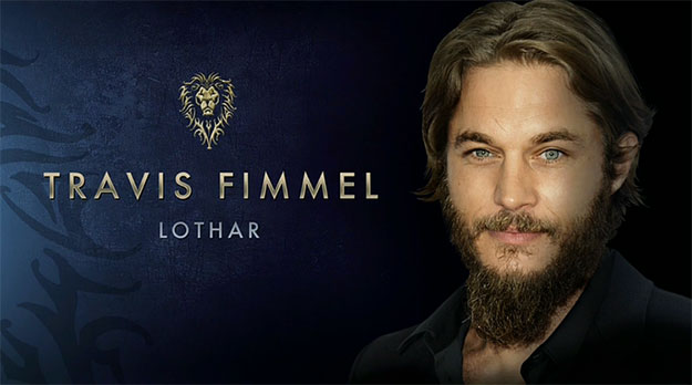 Travis Fimmel es el guerrero Anduin Lothar