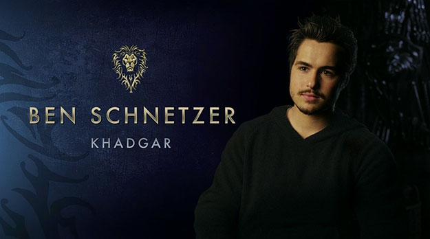 Ben Schnetzer es Khadgar