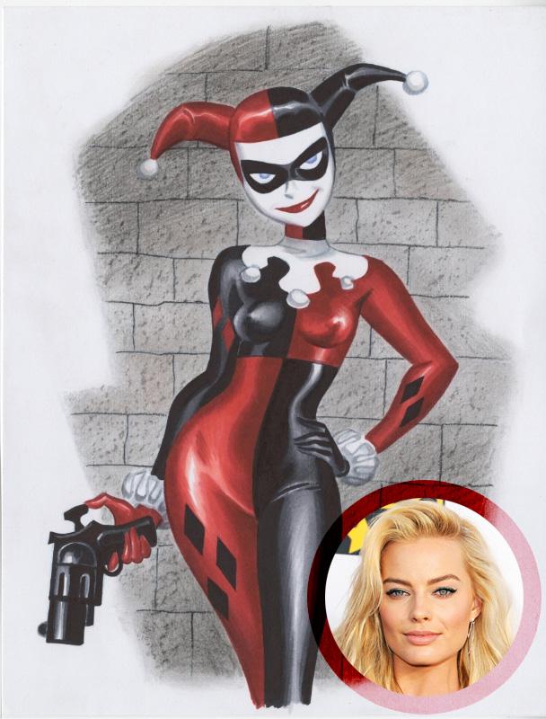 ¿Es Margot Robbie la elegida para encarnar a Harley Quinn en Suicide Squad?