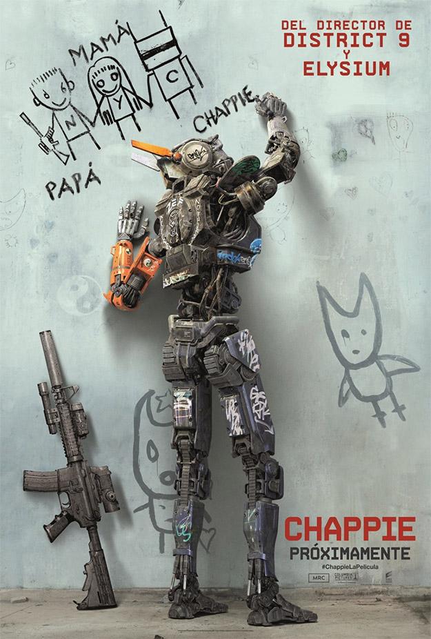 El nuevo cartel español de Chappie