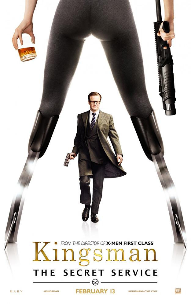 Uno de los nuevos carteles de Kingsman: el Servicio Secreto