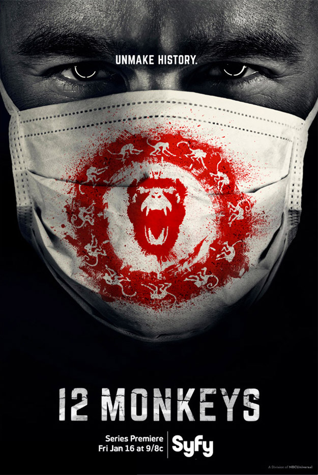 """El primer cartel de la serie """"12 Monkeys"""""""