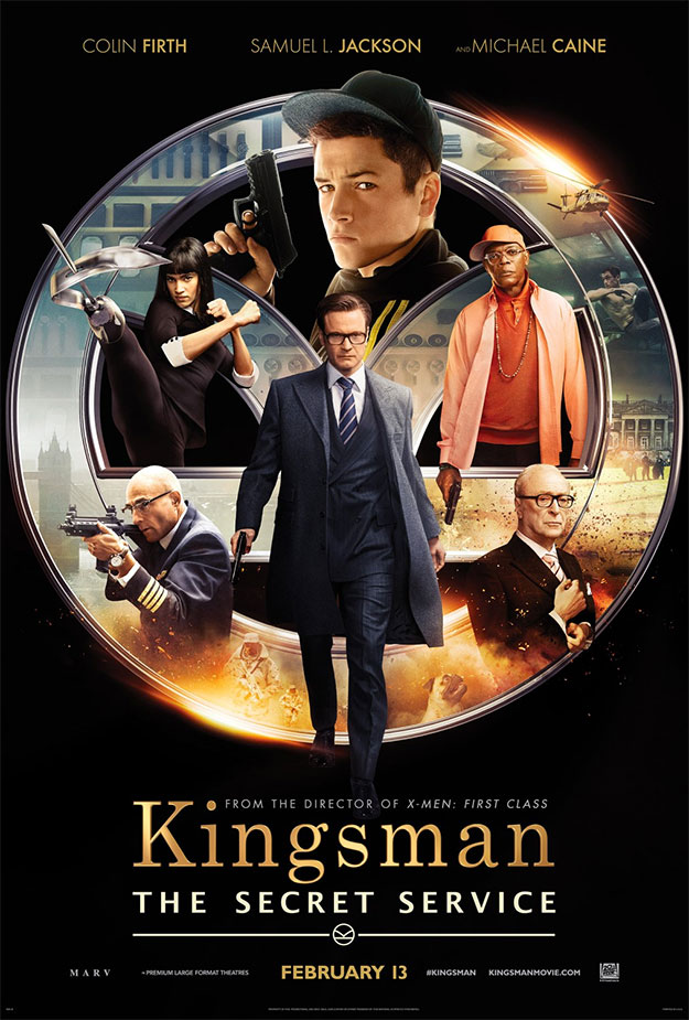 El nuevo cartel de Kingsman: El Servicio Secreto también mola