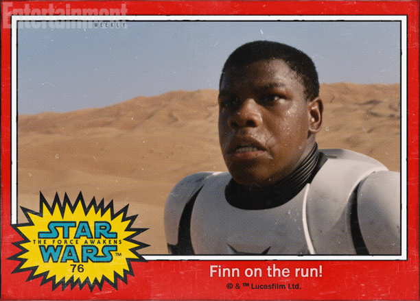 Finn on the run!