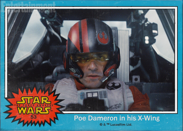 Poe Dameron in his X-Wing