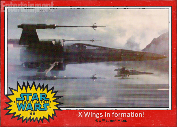 X-Wings in formation!