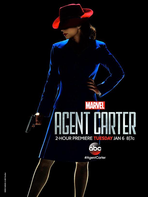 "Cartel molón de ""Agent Carter"" de la ABC"