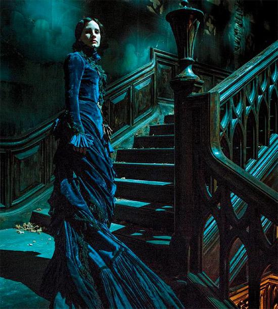 Primer vistazo oficial a Jessica Chastain en Crimson Peak de Guillermo del Toro