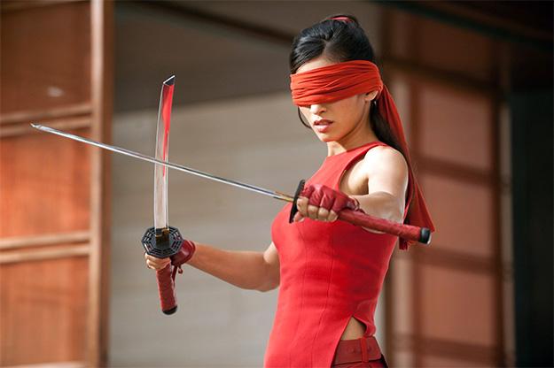 Élodie Yung no como Elektra, pero como Jinx en G.I. Joe: Retaliation