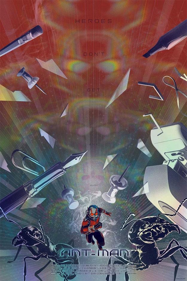 Un cartel de Ant-Man nuevo para la Comic-Con de San Diego 2015