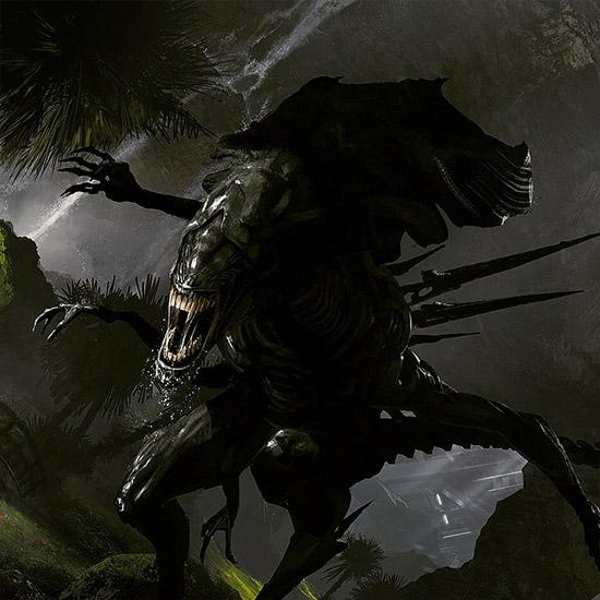 De nuevo la Reina Alien criatura a tener en cuenta
