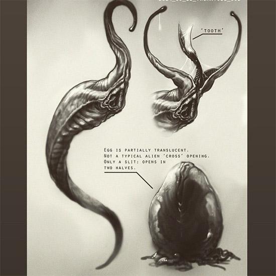 Un nuevo diseño para el huevo alien... conservador pero innovador al mismo tiempo