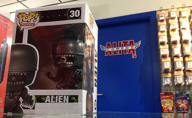 Alien, máquina letal del espacio exterior... ni en Alita le pueden hacer frente