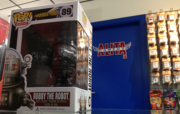 Robby el Robot, obligado tenerlo por casa para cualquier adorador de la ciencia ficción y de Alita