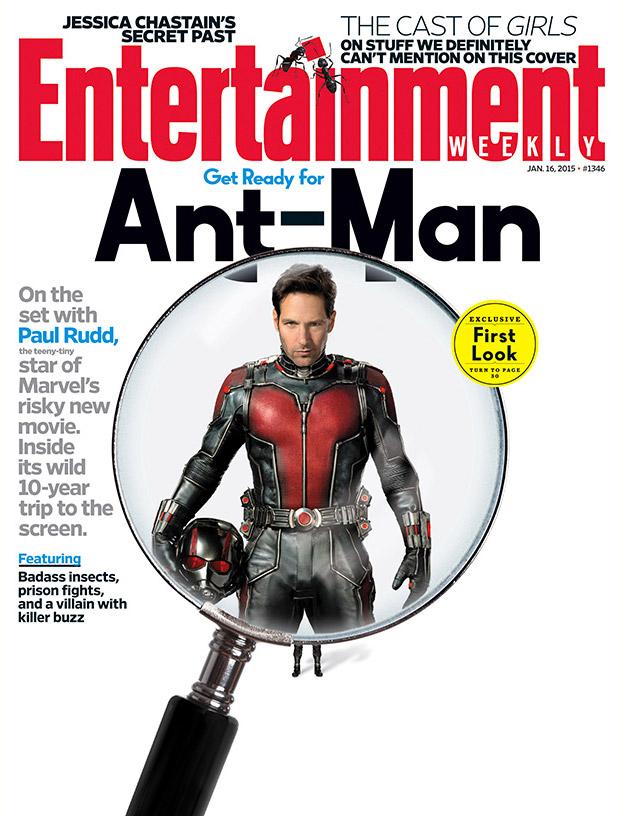 Primer vistazo a Paul Rudd con el traje de Ant-Man!