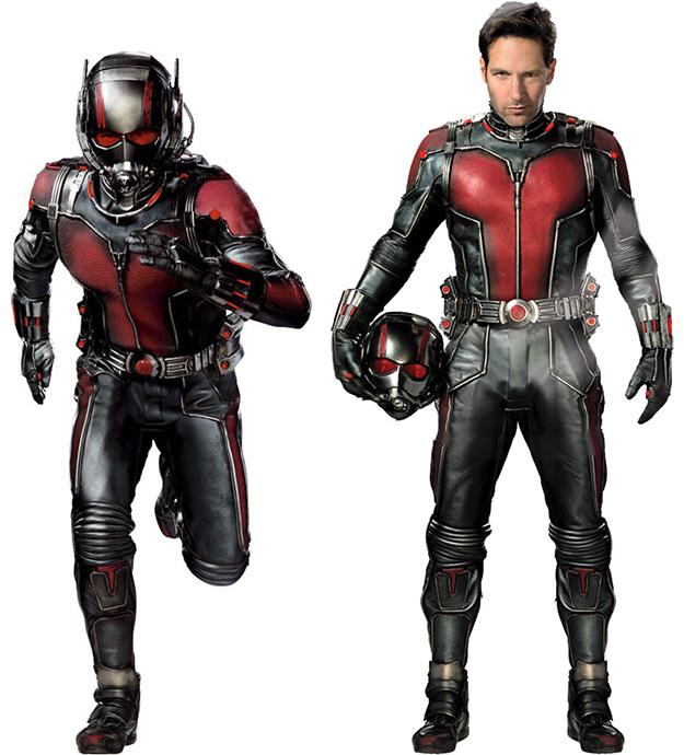 El traje de Ant-Man en acción