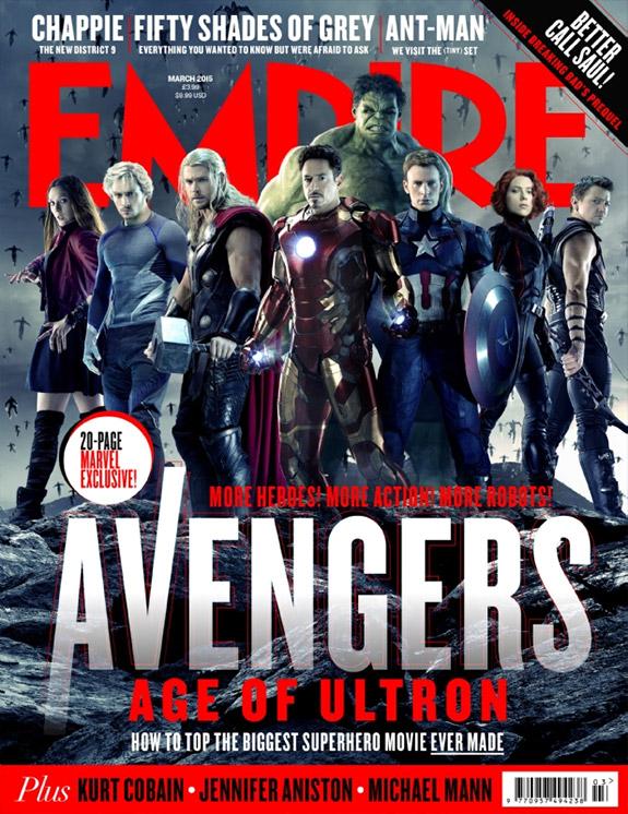 Los Vengadores... los que sufrirán en Vengadores: la Era de Ultrón