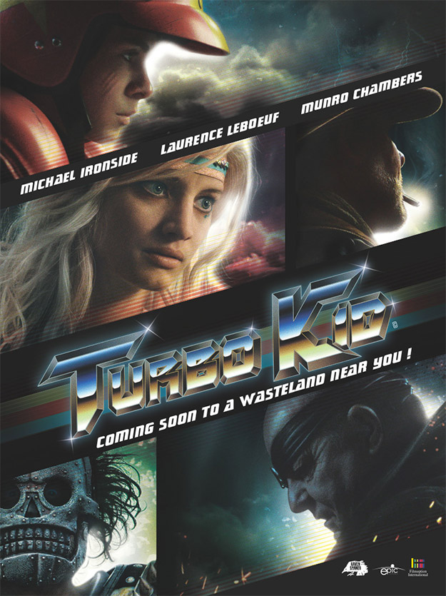 El primer cartel de Turbo Kid