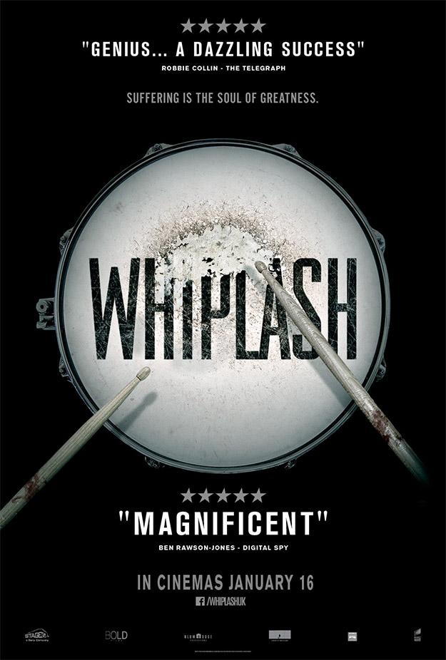 Uno de los carteles de Whiplash