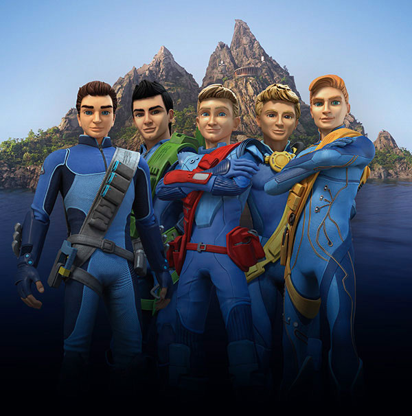 Los nuevos Thunderbirds...curioso
