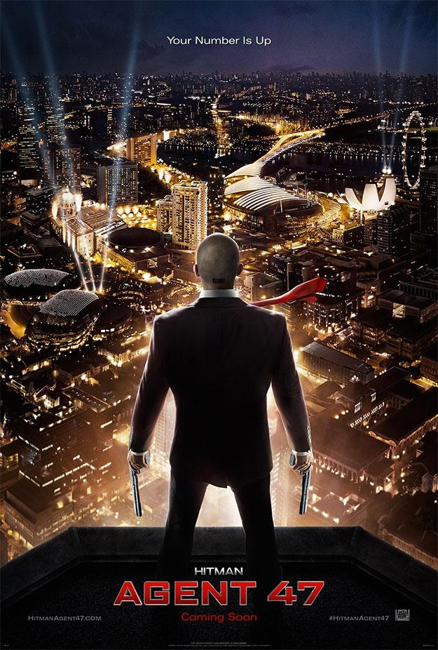 El cartel de Hitman: Agent 47... ni Spider-Man llega tan alto