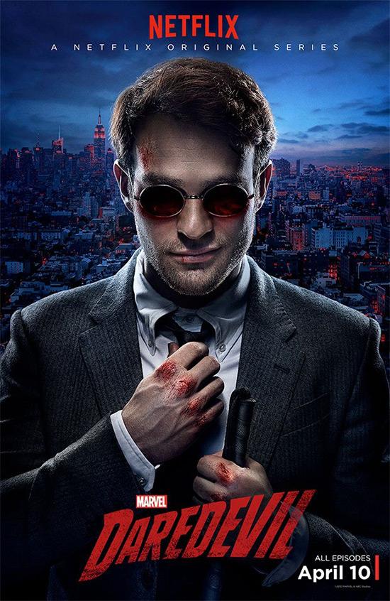 """Un nuevo cartel de """"Marvel's Daredevil"""" de Netflix... ya falta menos"""