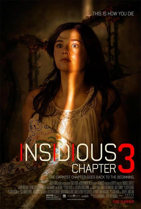 El nuevo cartel de Insidious Chapter 3, luces que de despiertan