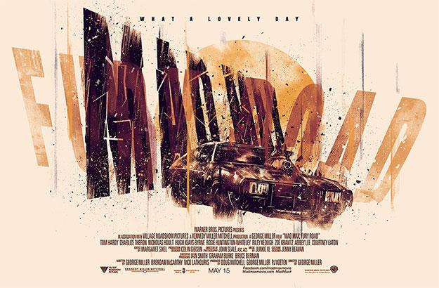 Mad Max: Furia en la Carretera, cartel molón 1