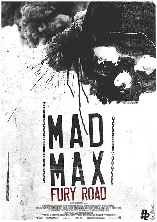 Mad Max: Furia en la Carretera, cartel molón 2