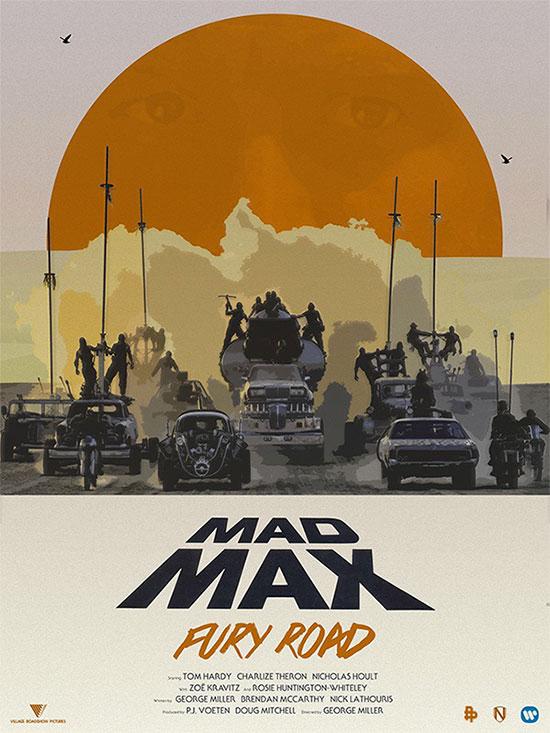 Mad Max: Furia en la Carretera, cartel molón 4