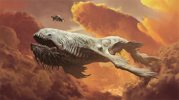 Concept art de The Leviathan