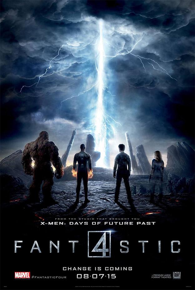 Un nuevo cartel de Fantastic Four AKA Los Cuatro Fantásticos