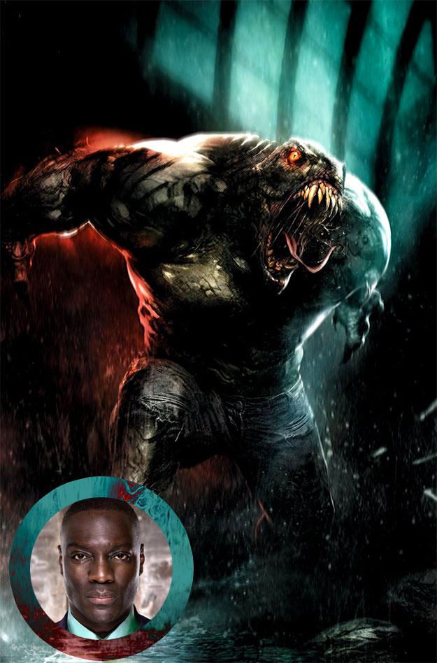 Adewale Akinnuoye-Agbaje se suma a Suicide Squad como Killer Croc