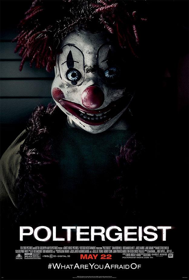 Un nuevo cartel del remake de Poltergeist