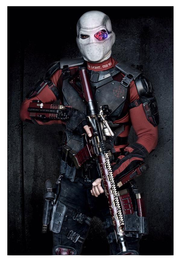 Un saludo a Will Smith como Deadshot