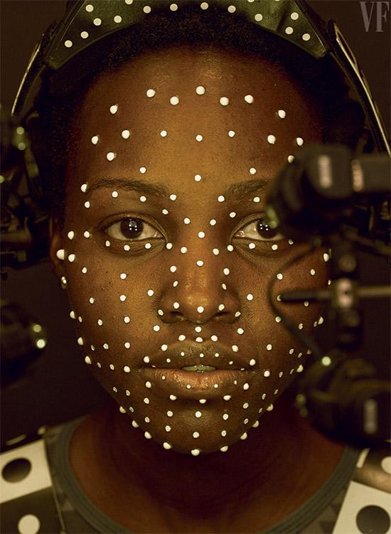 Lupita Nyong'o es Maz Kanata (personaje 100% CGI)