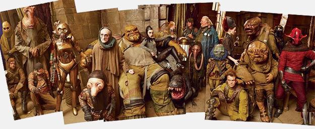 Las criaturas que pueblan el castillo de Maz Kanata en Star Wars: El Despertar de la Fuerza