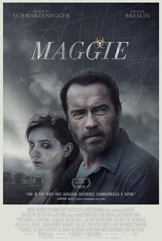 El primer cartel de Maggie